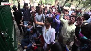 JNU Row: ABVP Students Raise Slogans At Delhi University