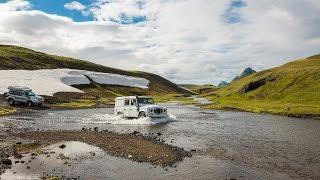 Iceland offroad with our Land-Rover Defender (short film) - Islande 4x4 avec notre Defender