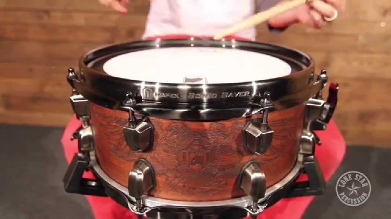 mapex 12 x 5 5 chris adler warbird maple walnut snare drum youtube. Black Bedroom Furniture Sets. Home Design Ideas