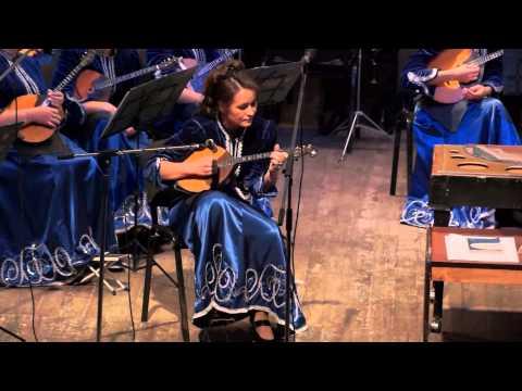 Антон НИКОНОВ - Концерт для малой домры с оркестром H Moll (1 часть)