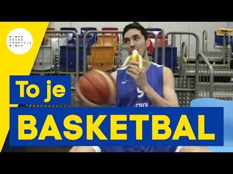 To je basketbal – ambasador Jiří Welsch