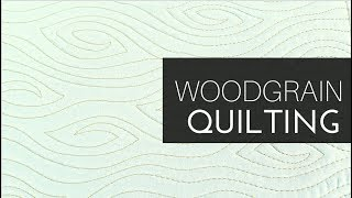 How to Fix 3 Common Mistakes when Machine Quilting the Woodgrain Design