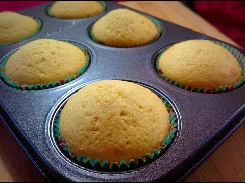 Vanilla Cupcakes | How to make Vanilla Cupcakes Recipe by (HUMA IN THE KITCHEN)