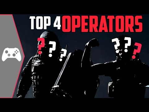 4 Operators You Should Always Choose! | Rainbow Six Siege Tips And Tricks