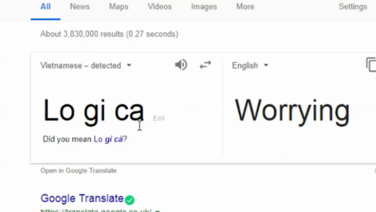 google translate weird and