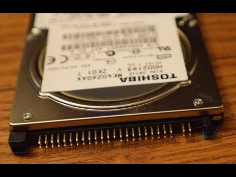 Жесткий диск HDD Laptop Toshiba IDE. Диагностика и попытка ремонта