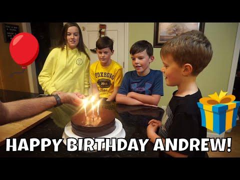 STOWED STUFF BIRTHDAY! ANDREW IS 6!