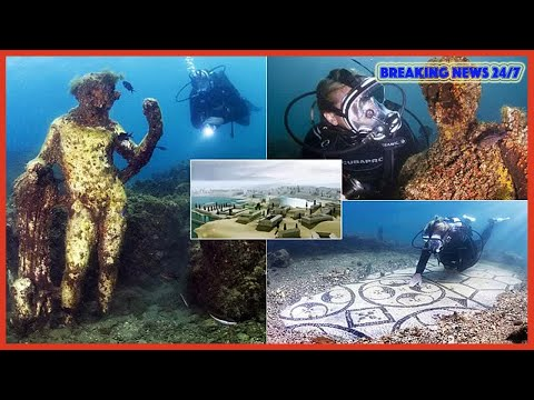 Sunken Roman city now lies beneath the waves off of Italy - Breaking News 24/7