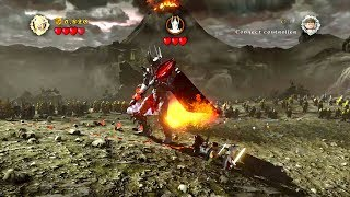 Lego Lord of the Rings (Xbox 360) Prologue (Sauron Boss Battle)