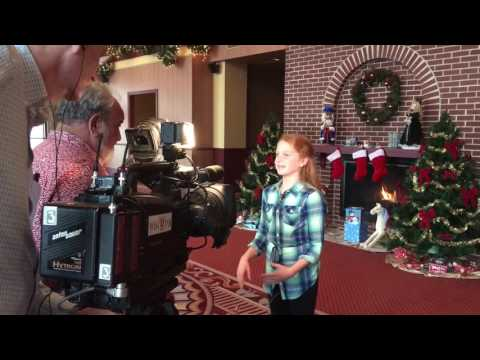 Annie interview for Miracle on 34th Street