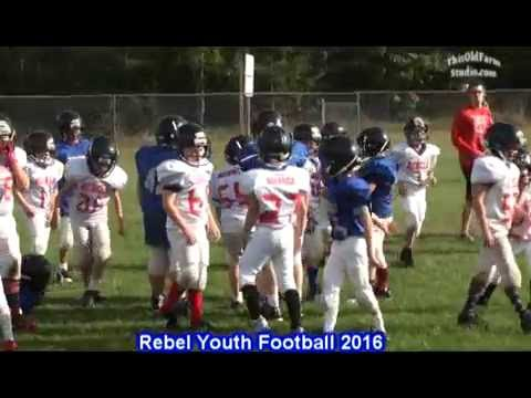MLWR Rebel Youth Football 2016