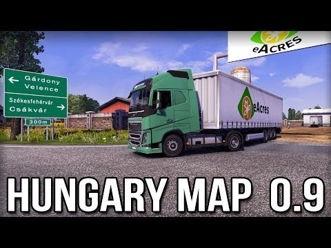 ETS2 Hungary 0.9 Map - Installation & First Look