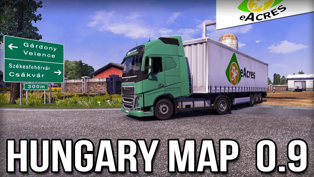 euro truck simulator 2 magyarország térkép letöltés ETS2 Hungary 0.9 Map   Installation & First Look   YouTube euro truck simulator 2 magyarország térkép letöltés