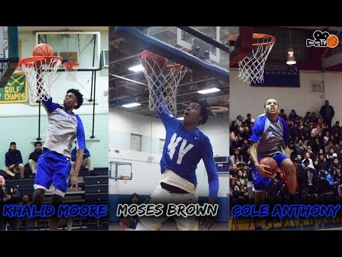 Top Prospects Moses Brown, Khalid Moore and Cole Anthony 2016-2017 Season Mixtape