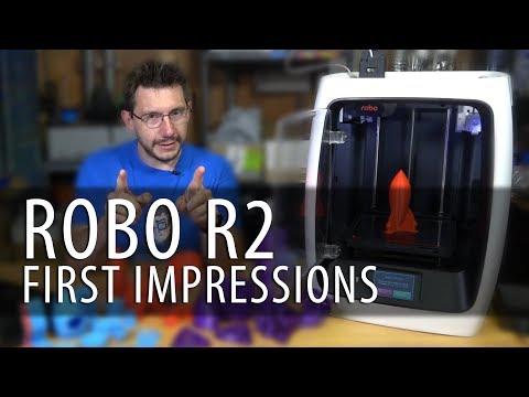 Robo R2 3D Printer First Impressions