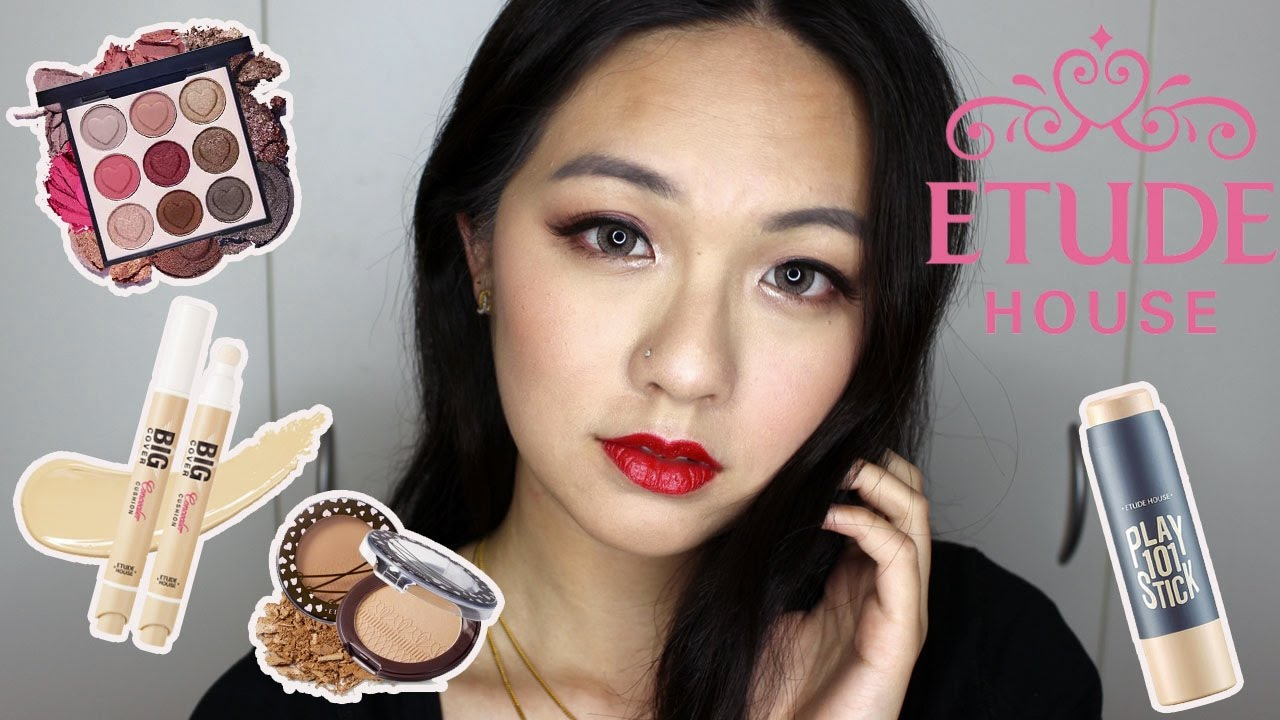 Etude house one brand makeup tutorial etude house one brand makeup tutorial glam look youtube baditri Image collections