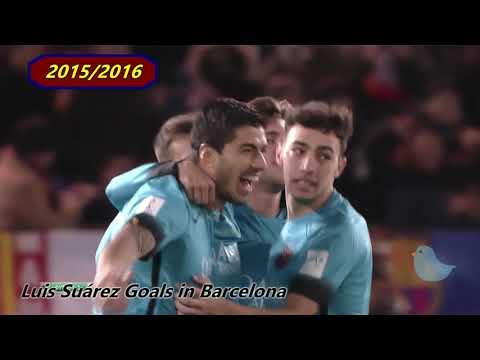 【Luis Suárez】2014 2018 ルイス・スアレス ゴール集 in バルセロナ