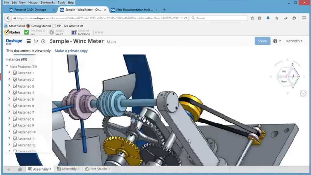 a quick look at onshape cad program beta release youtube