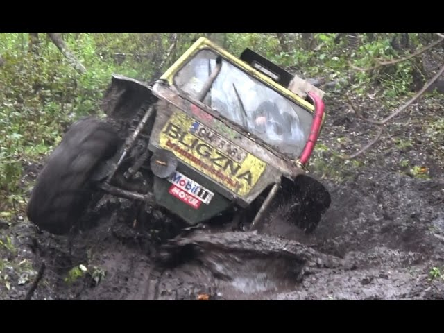 Off-Road vehicles race in Madona