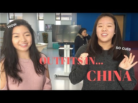 what high schoolers are ACTUALLY wearing: SHANGHAI, CHINA