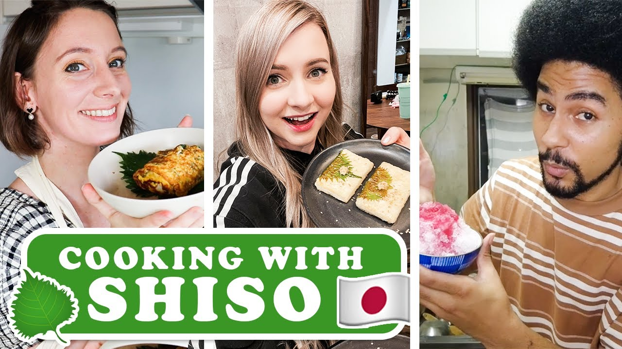Cooking With Seasonal Japanese Foods - Summer Edition | Shiso