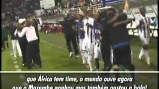 Globo Esporte - Kanhanga faz rap para o Mazembe [Legendado]
