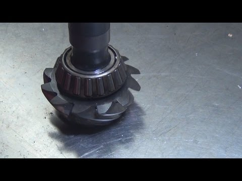 How To Remove A Pressed On  Pinion Bearing video