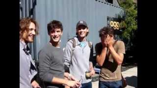 Sean O'Pry, Simon Nessman, Taylor Fuchs & Max rogers: Michael Kors 2011 (Backstage) HD