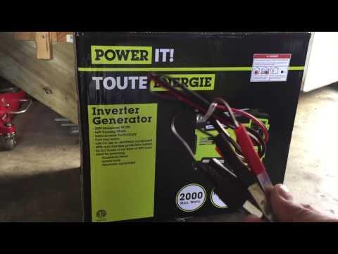 Review Power It Inverter Generator