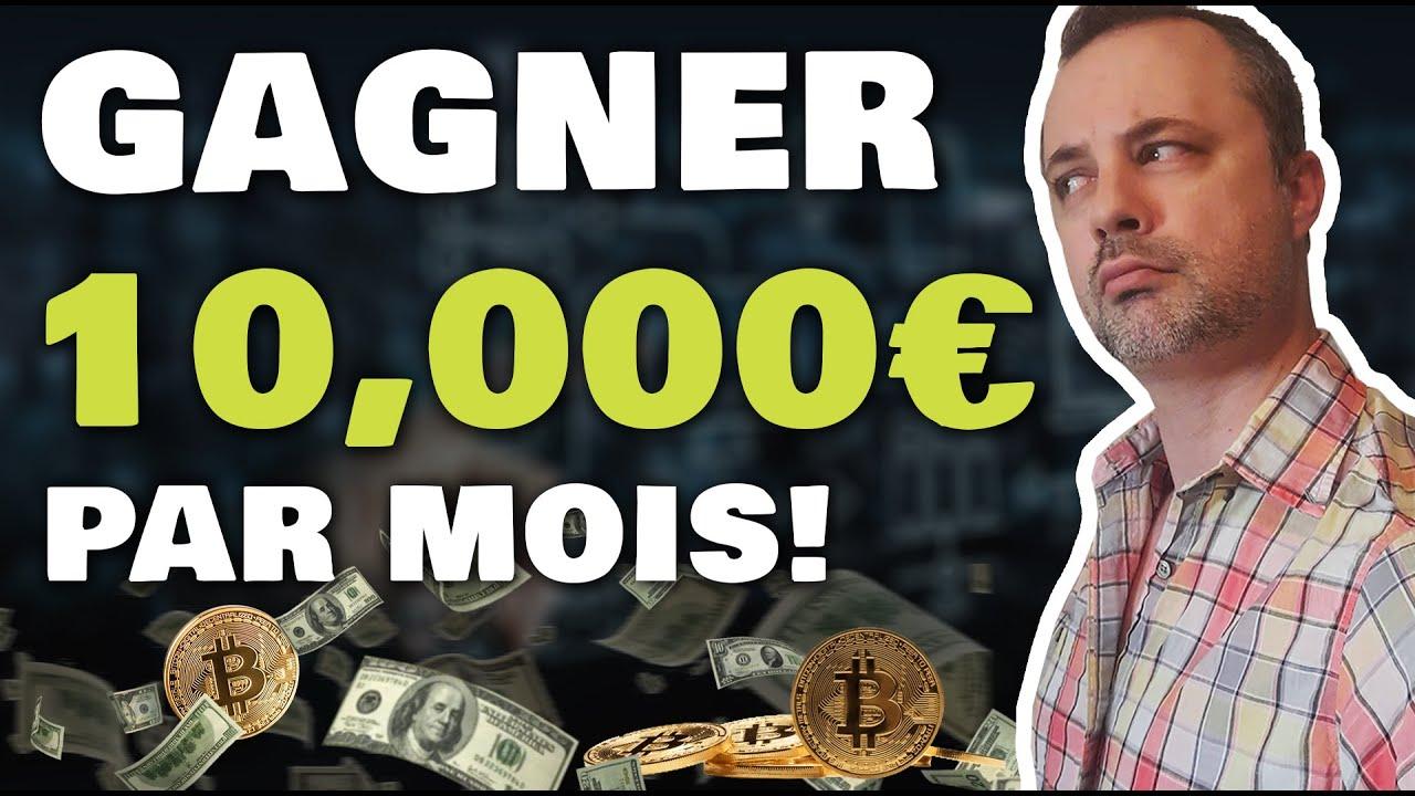 Gagne 10,000€/Mois d'argent Passif Grace a l'affiliation (crypto monnaie)