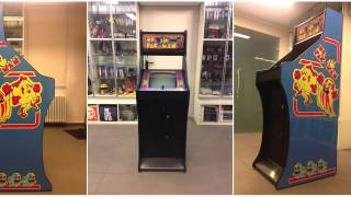 Custom Made Ms PacMan Arcade Cabinet