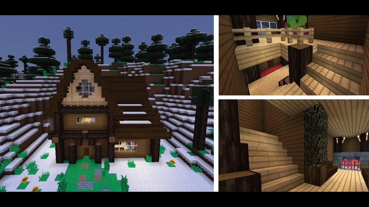 Minecraft PC - Spruce Cabin Speed Build
