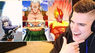 SUPER Clean! NEW Transforming Android 13 & Trunks Super Attack Reaction! Dragon Ball Z Dokkan Battle