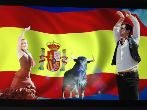 Film3 Spain forever. Espagne Spain tradition,culture,customs nationales,holiday. Vacance,Отпуск,