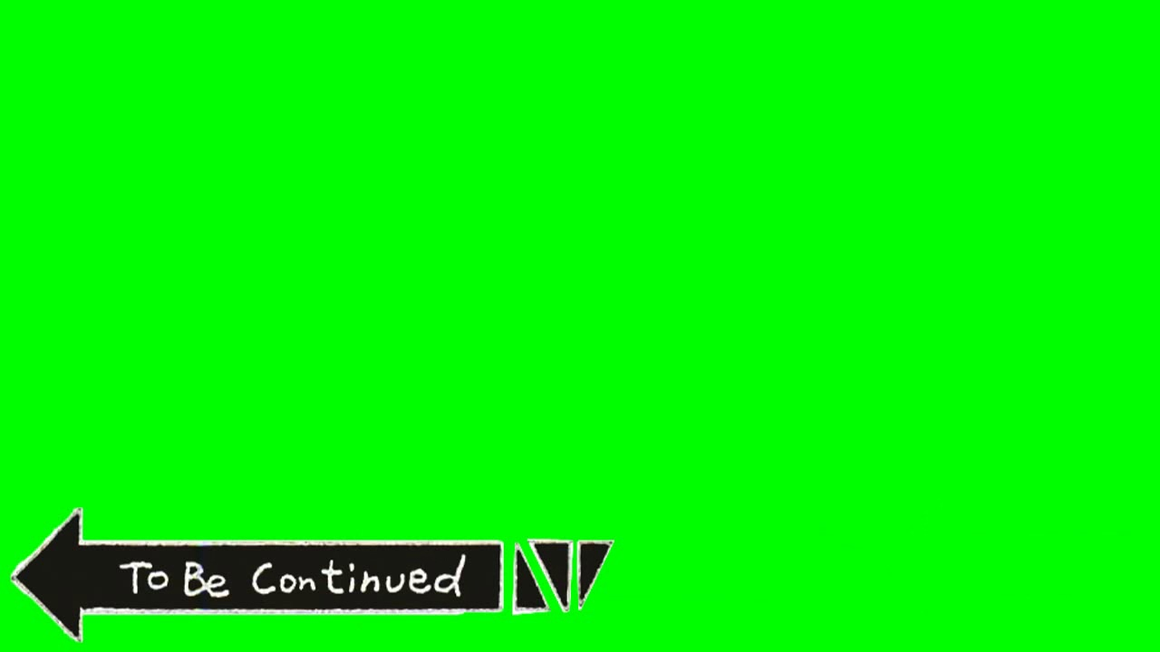 To Be Continued GREEN SCREEN DOWNLOAD by yellow fruit