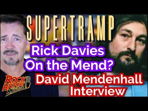 Supertramp's Rick Davies On The Mend? Performs With Old Bandmates