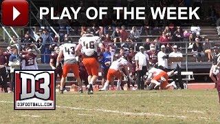 D3football.com Play of the Week: Hendrix Twin Billing
