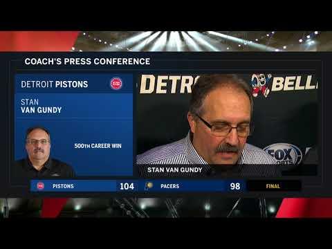Pistons LIVE 12.15.17: Stan Van Gundy