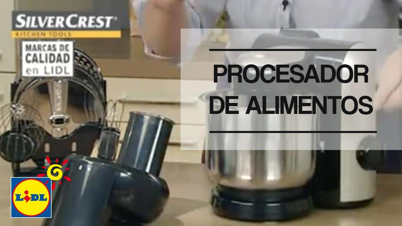 Procesador de alimentos lidl espa a youtube for Que es un procesador de alimentos