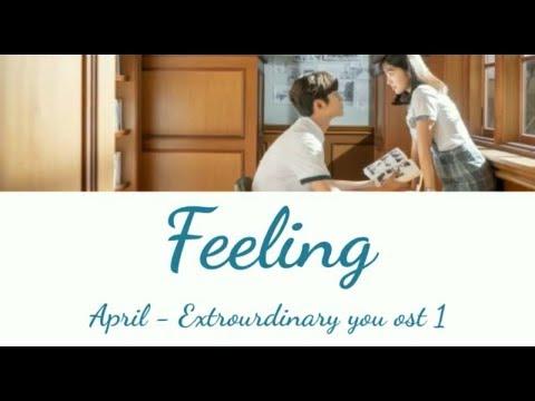Download APRIL - FEELING HAN/ROM/ENG Extraordinary You OST Part 1 Mp4 baru