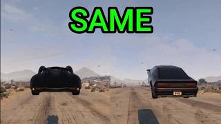 GTA5 ONLINE - SCRAMJET VS RUINER 2000 (WHICH ONE IS FASTER?)