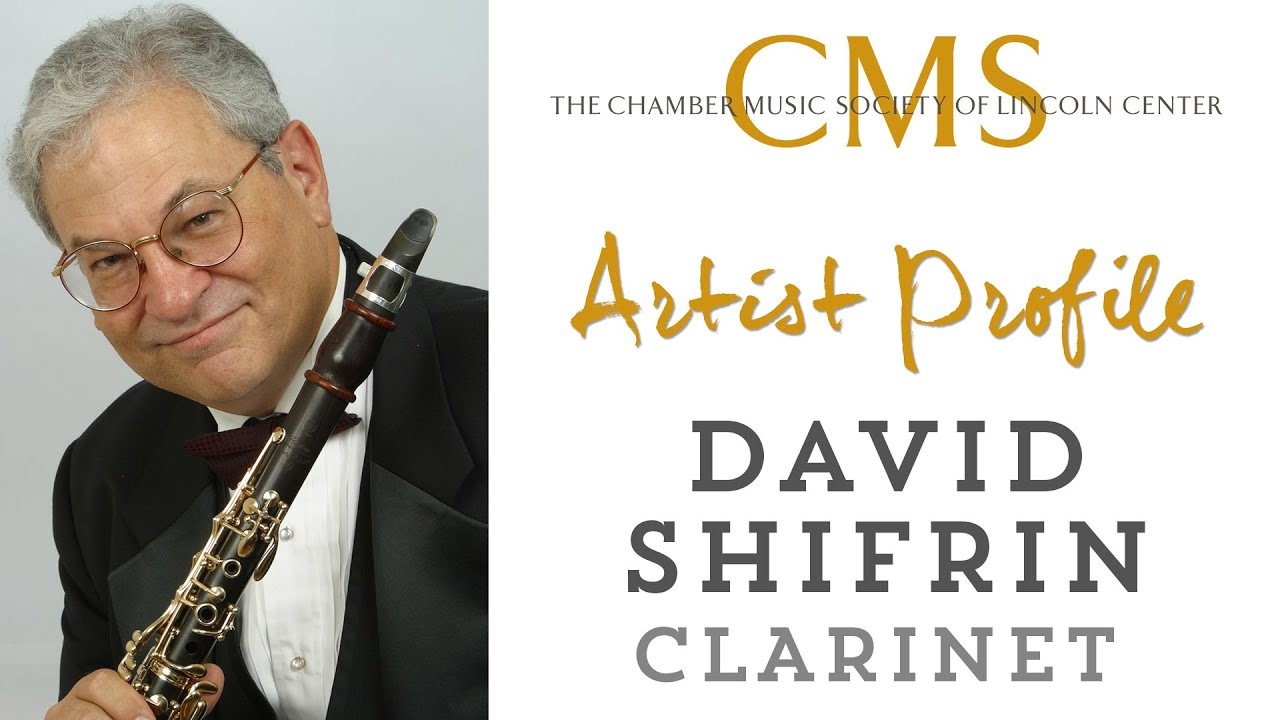 David Shifrin Artist Profile- November 2014