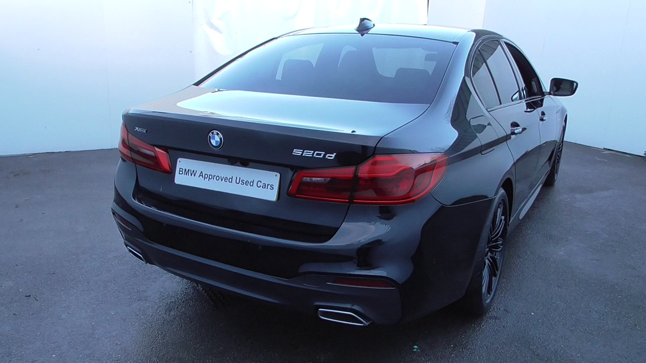 bmw 5 series saloon g30 520d xdrive m sport saloon b47 2. Black Bedroom Furniture Sets. Home Design Ideas