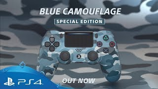 Blue Camouflage DUALSHOCK 4 | Special Edition Launch Trailer | PS4