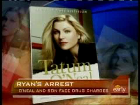 Ryan O'Neal And Son Arrested
