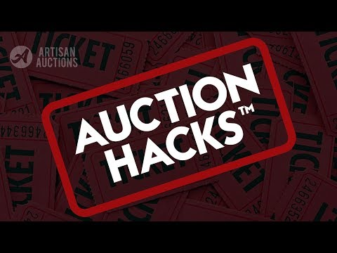 Auction Hacks™ - How To Win Rapid Raffle | Artisan Auctions