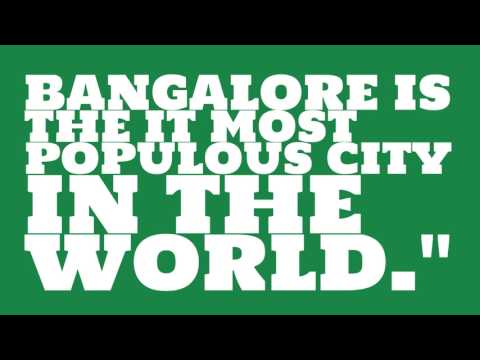 What is the population of Bangalore?