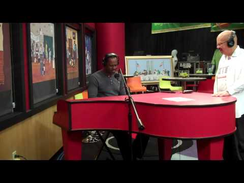 Brian McKnight performs The Only One For Me while in the Red Velvet Cake Studio .....