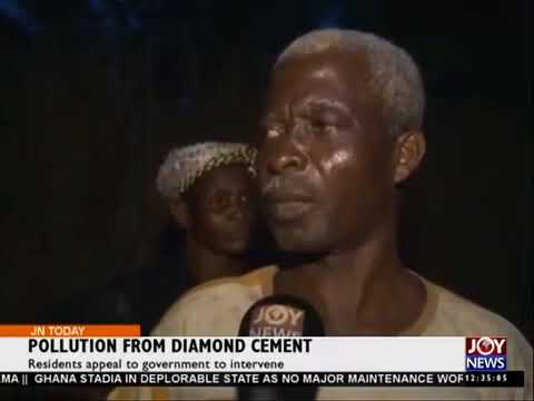 POLLUTION FROM DIAMOND CEMENT IN GHANA