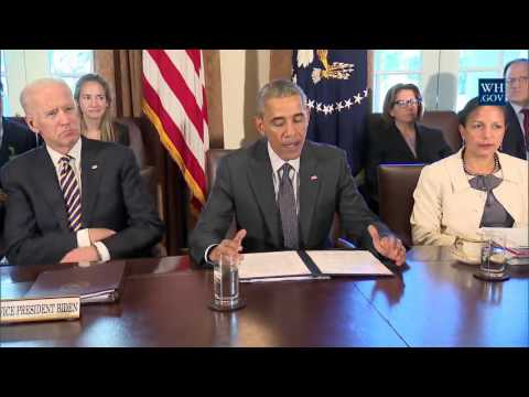 President Obama meets with Combatant Commanders and Joint Chiefs of Staff